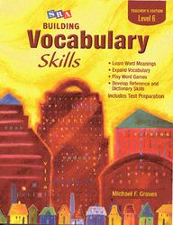 Building Vocabulary Skills, Teacher's Edition, Level 6