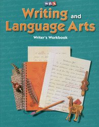 Writing and Language Arts, Writer's Workbook, Grade 5