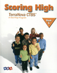 Scoring High on the TerraNova CTBS, Student Edition, Grade 1