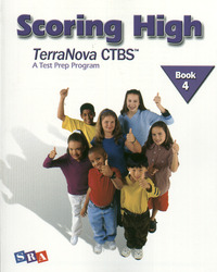 Scoring High on the TerraNova CTBS, Student Edition, Grade 4