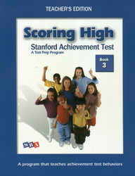 Scoring High on the SAT/10, Teacher's Edition and Poster Package, Grade 3