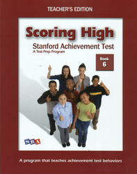Scoring High on the SAT/10, Teacher's Edition and Poster Package, Grade 6