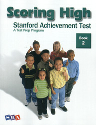 Scoring High on the SAT/10, Student Edition, Grade 2
