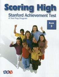 Scoring High on the SAT/10, Student Edition, Grade 3