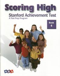Scoring High on the SAT/10, Student Edition, Grade 4