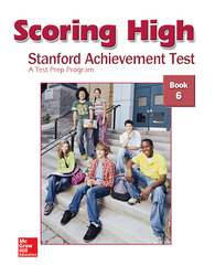 Scoring High on the SAT/10, Student Edition, Grade 6