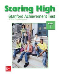 Scoring High on the SAT/10, Student Edition, Grade 7