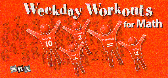 Weekday Workouts for Math, Student Booklet Grade 1