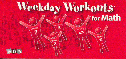 Weekday Workouts for Math, Student Booklet Grade 3