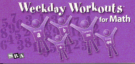Weekday Workouts for Math, Student Booklet Grade 6