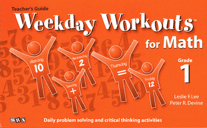Weekday Workouts for Math, Teacher Guide Grade 1