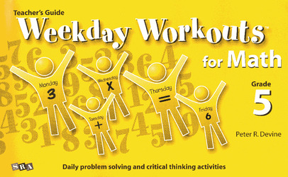 Weekday Workouts for Math, Teacher Guide Grade 5
