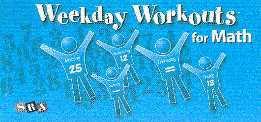 Weekday Workouts for Math, Student Booklet 10-Pack Grade 2