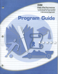 High-Performance Writing Advanced Level, Program Guide