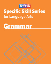 Specific Skill Series for Language Arts - Grammar Book, Level F