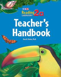 Reading Lab 2a, Teacher's Handbook, Levels 2.0 - 7.0