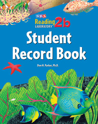 Reading Lab 2b, Student Record Book (5-pack), Levels 2.5 - 8.0