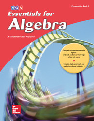 Essentials for Algebra, Teacher Presentation Book 1