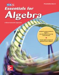 Essentials for Algebra, Teacher Presentation Book 2