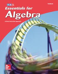 Essentials for Algebra, Student Textbook
