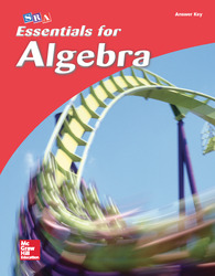 Essentials for Algebra, Answer Key