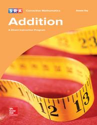 Corrective Mathematics Addition, Additional Answer Key