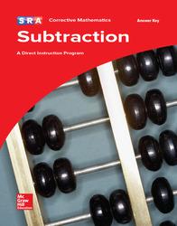 Corrective Mathematics Subtraction, Additional Answer Key