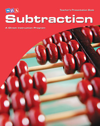 Corrective Mathematics Subtraction, Teacher Materials