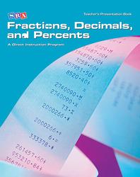 Corrective Mathematics Fractions, Decimals, and Percents, Teacher Materials
