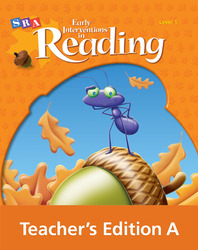 Early Interventions in Reading Level 1, Teacher's Edition Book A