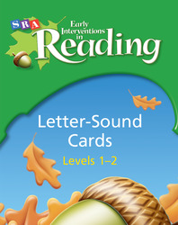 Early Interventions in Reading Level 1-2, Letter Sound Cards