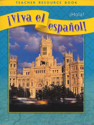 ¡Viva el español!: ¡Hola!, Teacher Resource Book