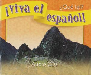 ¡Viva el español!: ¿Qué tal?, Audio CDs (Set of 6)