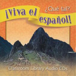 ¡Viva el español!: ¿Qué tal?, Classroom Library Audio CD