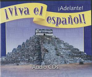 ¡Viva el español!: ¡Adelante!, Audio CDs (Set of 6)