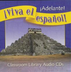 ¡Viva el español!: ¡Adelante!, Classroom Library Audio CD