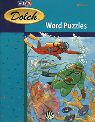 Dolch® Word Puzzles, Book 4 (Spirit of Adventure, Fiction, and America's Journey, Fiction)