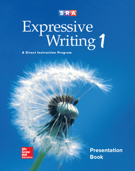 Expressive Writing Level 1, Teacher Presentation Book