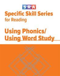 Specific Skill Series for Reading, Using Phonics/Using Word Study, Prep Level
