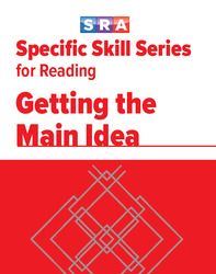 Specific Skills Series, Getting the Main Idea, Prep Level