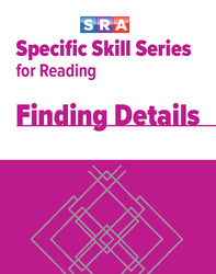 Specific Skills Series, Finding Details, Book G