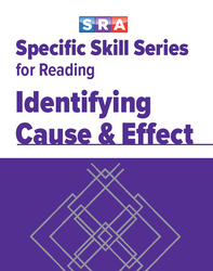 Specific Skills Series, Identifying Cause & Effect, Prep Level