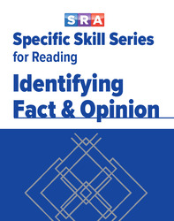 Specific Skill Series for Reading, Identifying Fact & Opinion, Book F