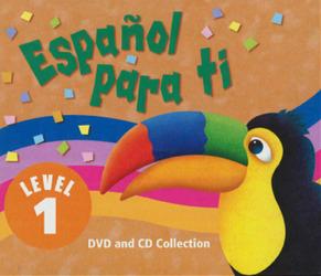 Español para ti Level 1, Materials Center DVD/Audio CD Version
