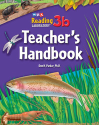 Reading Lab 3b, Teacher Handbook, Levels 4.5 - 12.0