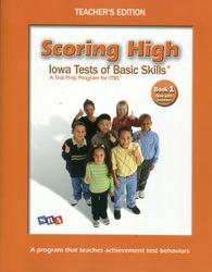 Scoring High ITBS, Teacher Edition, Grade 1