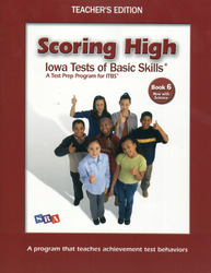 Scoring High ITBS, Teacher Edition, Grade 6