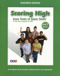 Scoring High ITBS, Teacher Edition, Grade 7