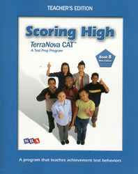Scoring High on the California Achievement Tests (CAT), Teacher's Edition with Poster, Grade 8
