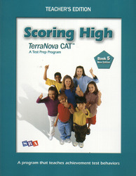 Scoring High Terra Nova CAT, Teacher Edition, Grade 5